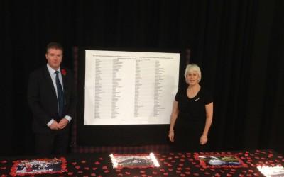 2015 Armistice commemorations