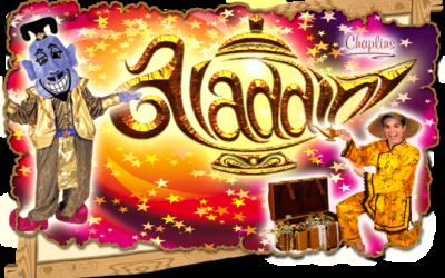 Aladdin the 2017 Haddington Panto